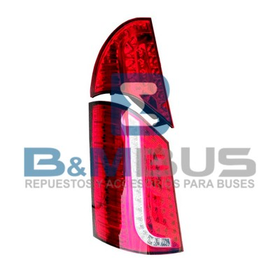 FARO POSTERIOR  X 2PC LED METAL BUS