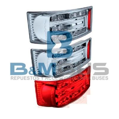 FARO POSTERIOR C/ LED COMIL  ALTER O500