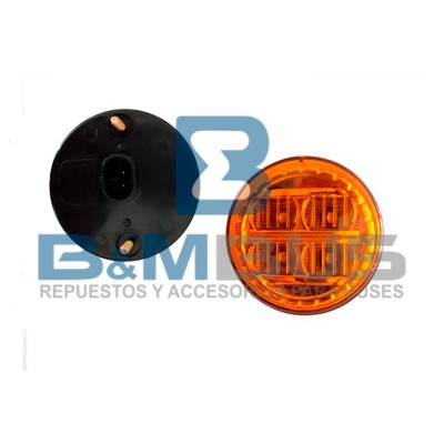DIRECCIONAL AMBAR 4 LED X70MM URBANO COMIL