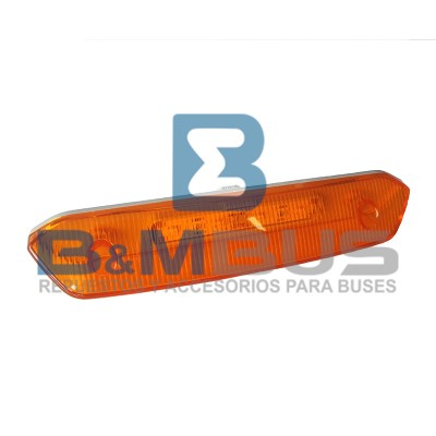 DELIMITADOR DE TECHO AMBAR C/LED COMIL INVICTUS
