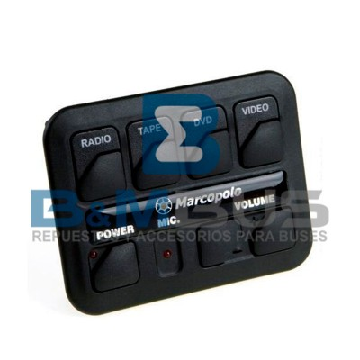 CONTROL DE AUDIO Y VIDEO MPOLO G6 MODELO ORIGINAL