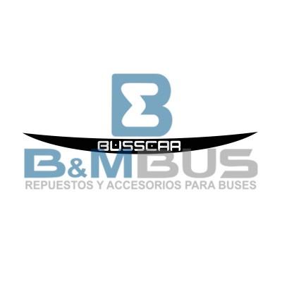 EMBLEMA BUSSCAR PUNTA BAJO LA PARABRISA